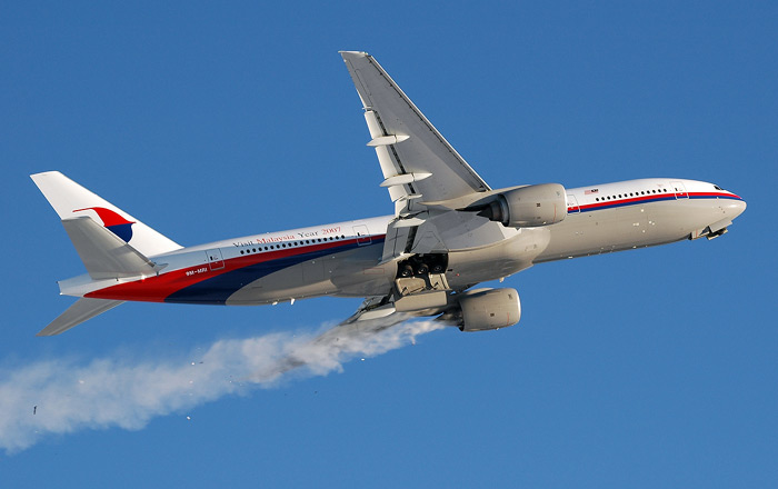 Boeing 777 panne moteur au décollage
