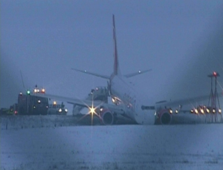 Sortie de Piste Boeing 737-800