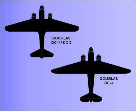 Douglas DC-1 DC-2 DC-3