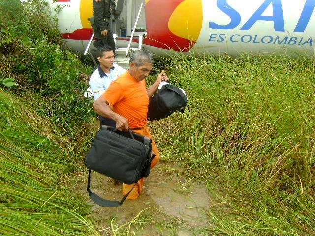 Sortie de Piste Colombie
