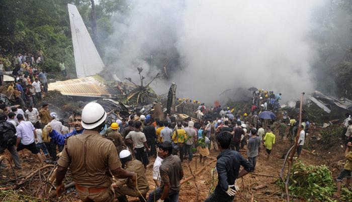 Boeing 737-800 sortie de piste Mangalore