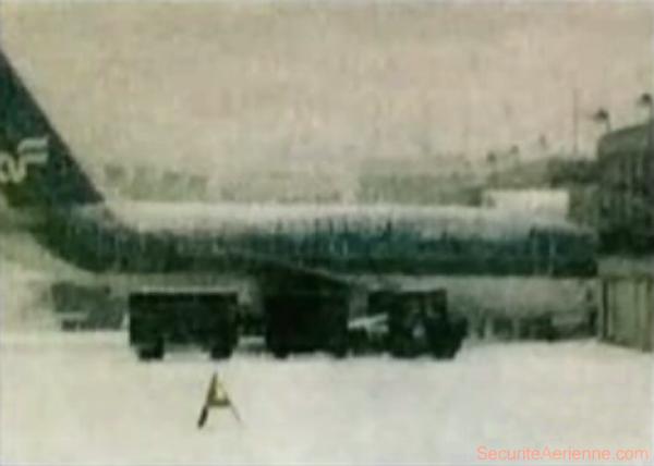 Air Florida 90 - Avant le décollage