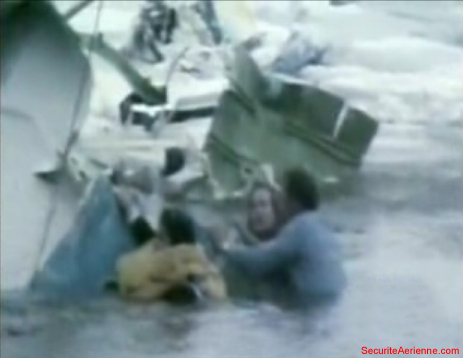 Air Florida 90 victimes dans l'eau