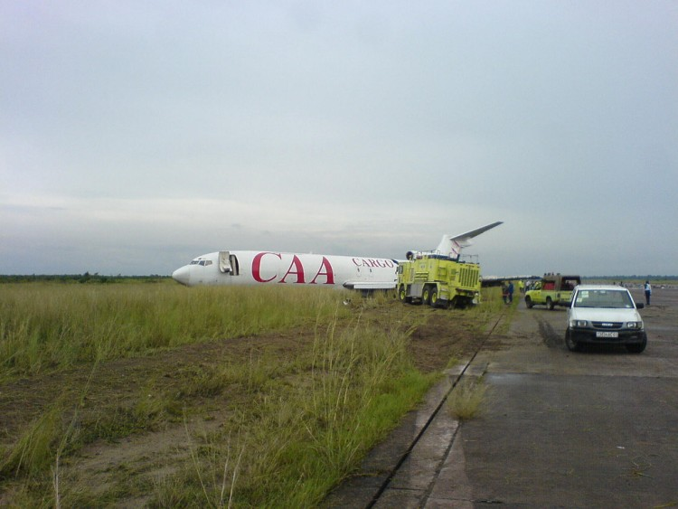 Sortie de Piste Boeing 727-200