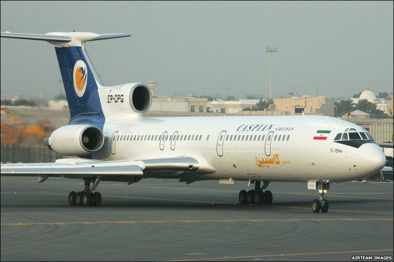 Tupolev 154M