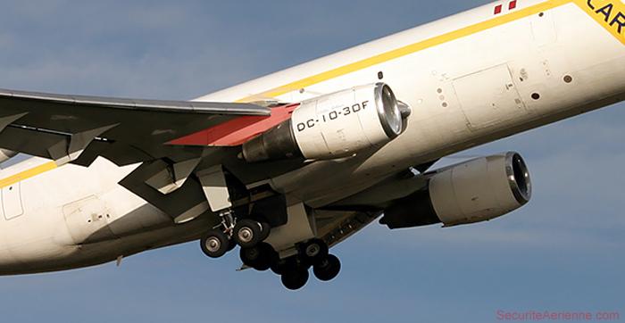 DC-10 Attache réacteur