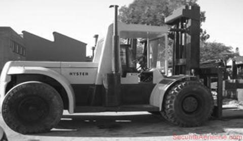 Charriot élévateur Hyster 406B