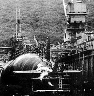 USS Greeneville hélice