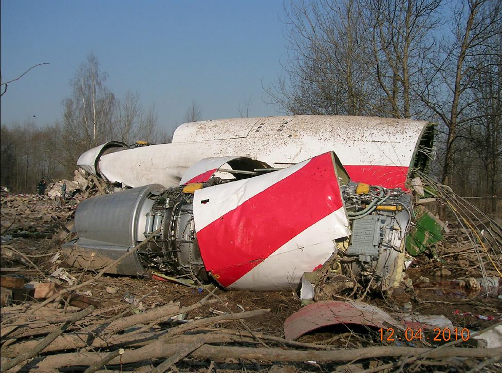 Crash TU154 - Lech Kaczynski