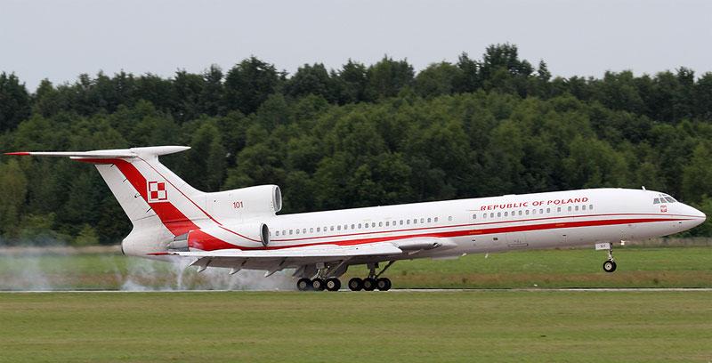 TU-154 Presidence de la Pologne