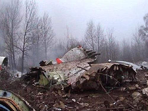 TU-154 Presidence de la Pologne, CFIT