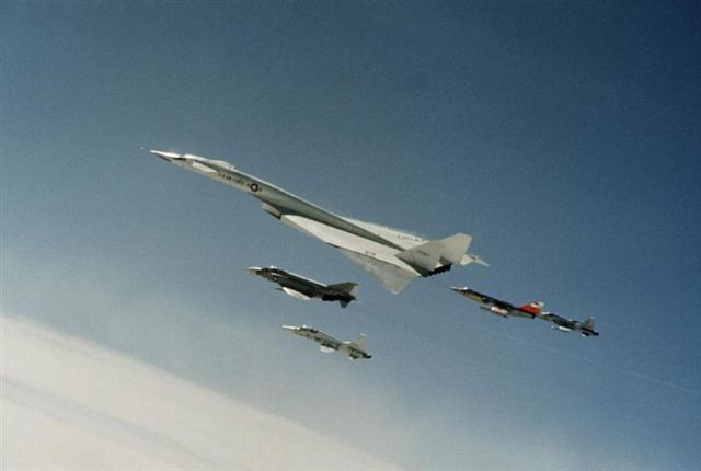 XB-700 formation