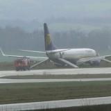 Sortie de piste d'un Boeing 737 de Ryanair à Limoges / 6 blessés