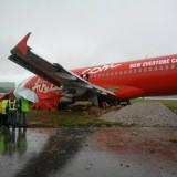 Air Asia vol AK-5218 – Sortie de Piste Sous la Pluie