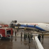 Kolavia vol HH-6437 : Atterrissage mouvementé en Iran