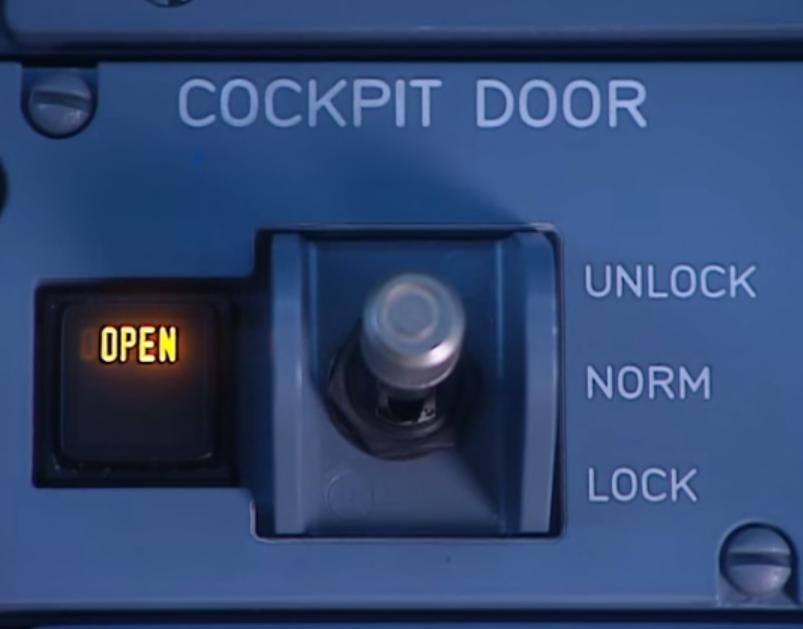 La position lock pour refuser l'entrée normale.
